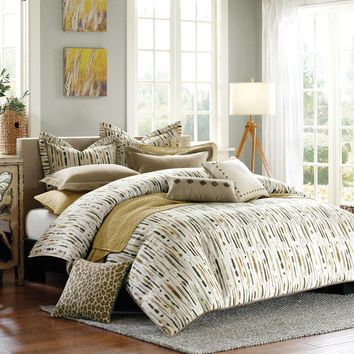 Hampton Hill Hopecrest  Polyester Jacquard 8pcs Comforter Set, Multi