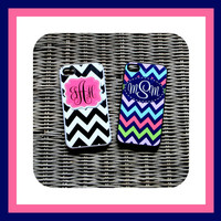 Hard Rubber case Personalized iPhone Case, Monogrammed iPhone Case, Monogram iPhone Case, iPhone, iPhone 4 Case, iPhone5