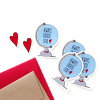 Always Choose Love - Sticker Set