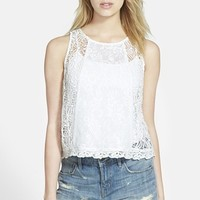 Women's Hinge Lace Shell Top