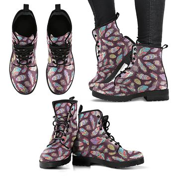 Bohemian Feather Boots
