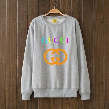 GUCCI Fashion Casual Print Woman Men Top Sweater Pullover G