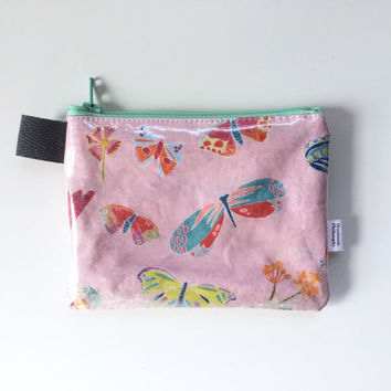 Crystal Butterflies Divided Coin Purse (handmade philosophy's pattern)