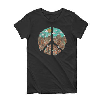 The Peaks of Peace Graphic Tee
