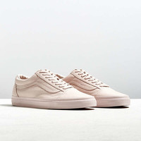 Vans Old Skool Mono Leather Sneaker | Urban Outfitters