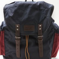 Canvas Buckled Backpack
