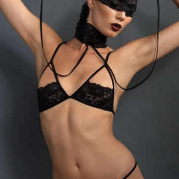 Sexy Submissive Four Piece Set