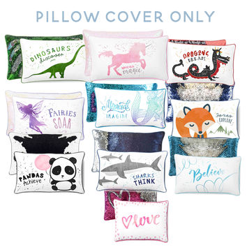 Positivity Collection Mermaid Pillow Cover Only