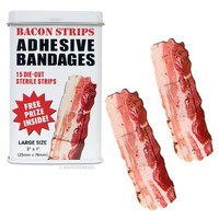 Bacon Strips Bandages - Whimsical & Unique Gift Ideas for the Coolest Gift Givers