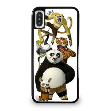 KUNGFU PANDA HEROES iPhone 5/5S/SE 5C 6/6S 7 8 Plus X/XS Max XR Case Cover