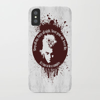 Lost Boys iPhone Case by Fimbis