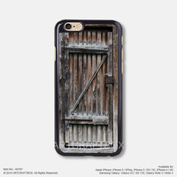 Vintage wood door Free Shipping iPhone 6 6 Plus case iPhone 5s case iPhone 5C case iPhone 4 4S case Samsung galaxy Note 2 Note 3 Note 4 S3 S4 S5 case 167