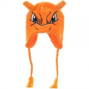 Pokémon Charizard Laplander Knit Beanie Cap with Ears by BioWorld