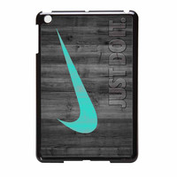 Nike Mint Just Do It Wooden iPad Mini 2 Case