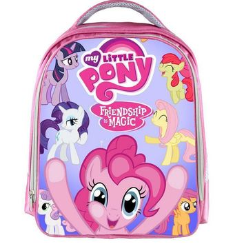 13 Inches Unicorn Poni Cartoon Shoulderbag Children School Bag #562 Kids Backpack Students Book Bag For Boys Girls
