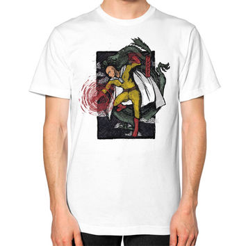 Super punch Unisex T-Shirt (on man)