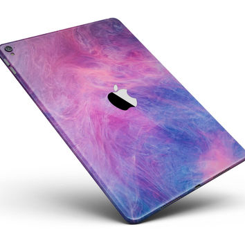"""Pink and Blue Fume Clouds Full Body Skin for the iPad Pro (12.9"""" or 9.7"""" available)"""
