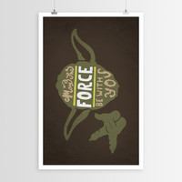 Alpha-Tone's May the Force POSTER