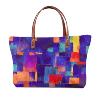 Painted Color Tote Bag