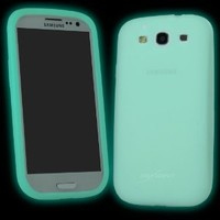 Amazon.com: BoxWave Samsung Galaxy S3 i9300 Active Glow Case - Low-Profile Glow in the Dark Skin Case for the Samsung Galaxy S3 - Galaxy S3 Cases and Covers: Cell Phones & Accessories