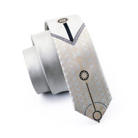 Men Ties Silk Skinny Ties For Men Narrow Gravata Slim Tie Novelty Gray Necktie