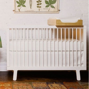 Sparrow Crib in White