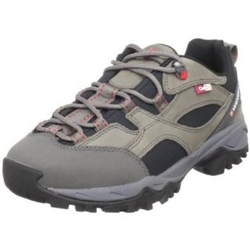 Wenger Women`s Boulder Trail Shoe,Charcoal,8.5 M US