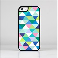 The Vibrant Fun Colored Triangular Pattern Skin-Sert Case for the Apple iPhone 5c