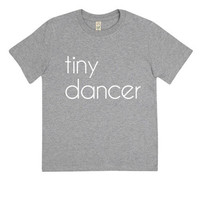 Kids Tiny Dancer Organic T-Shirt | Grey