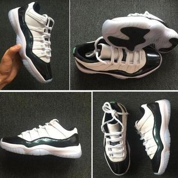 Air Jordan Low Easter 11 Emerald Iridescent 11s Mens basketball shoes Best Quality Sports Shoes With Box Men Basketball Shoes Sneakers