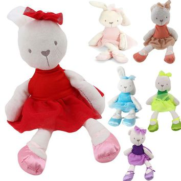 6 Colors Cute Large Soft Stuffed Animal Bunny Rabbit Toy Baby Kids Girl gifts