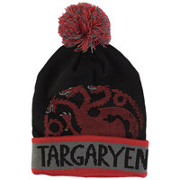 Game of Thrones - Targaryen Pom Pom Knit Hat