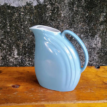 Hall Refrigerator Pitcher Nora Pattern Periwinkle Blue
