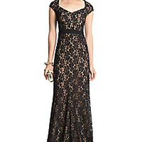 DVF Zarita Lace Sleeveless Gown