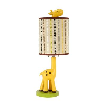 NoJo Zoobilee Giraffe Table Lamp (Yellow)
