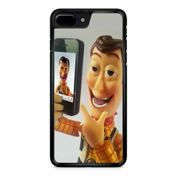 Disneyland Toy Story Woody Selfie iPhone 8 Plus Case