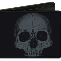 Miss May I Men's Skull & Stay Fucking Metal Bi-Fold Wallet
