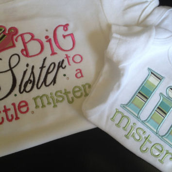 Big Sister / Little Brother Shirt Set