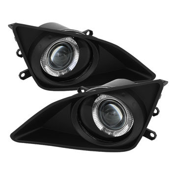 Toyota Corolla 09-10 Halo Projector Fog Lights - Clear
