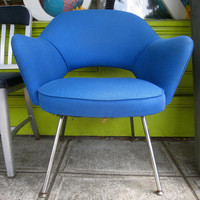 Space Age Retro Mid Century Chair W cool Lines by swankarama