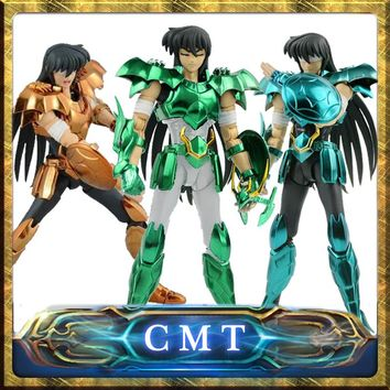 CMT In stock Dragon Shiryu V3 Version final Cloth EX metal armor GREAT TOYS GT EX Bronze Saint Seiya Myth Cloth Action Figure