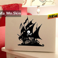 Pirate Ship-Macbook Decals Macbook Stickers Mac Cover Skins Vinyl Decal for Apple Laptop Macbook Pro/Macbook Air/Uniboday Partial Skin