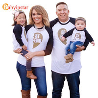 Babyinstar Family Look T-Shirt Boy Girl and Mother Top Tees Best Friend Clothes Family Matching Outfits New 2017 Family T-Shirt