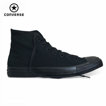 classic Original Converse all star canvas shoes 2 color  high classic Skateboarding men and women's sneakers shoes