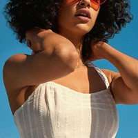 Out From Under Truvy Eyelet Cropped Tank Top | Urban Outfitters