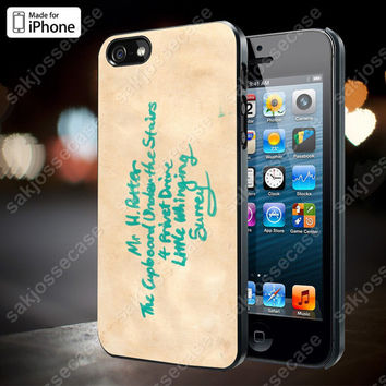 Harry Potter Hogwarts Letter Case for iPhone 5/5S, 4/4S, and Samsung Galaxy S3/S4