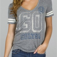 Women's NFL Indianapolis Colts Tee T-Shirt by Junk Food