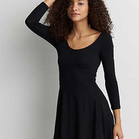 AEO Strappy Back Dress, True Black