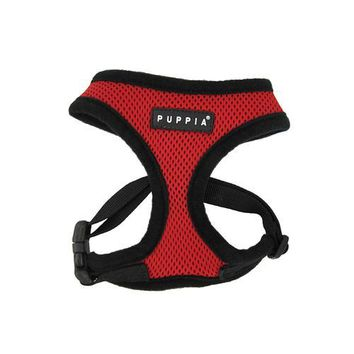 Basic Soft Harness by Puppia - Red