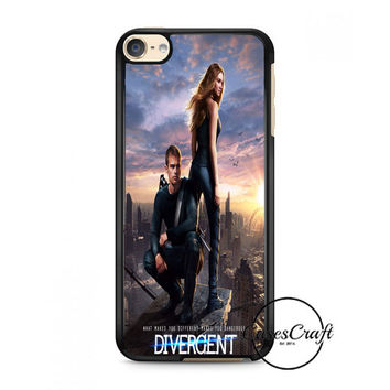 Divergent  Mortal Instrument  And Hunger Game iPod Touch 6 Case
